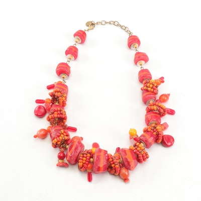 Mano Creations Beaded Necklace