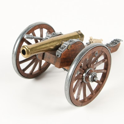 Dahlgren 1.861 Miniature Civil War Cannon