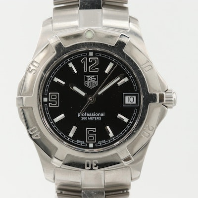TAG Heuer 2000 Stainless Steel Quartz Wristwatch