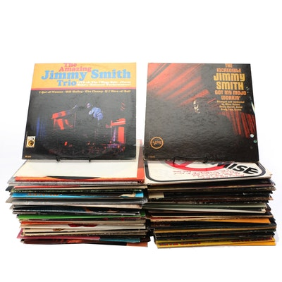 1960s and 70s Jazz Records including Autographed Albums by No Compromise