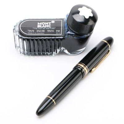 Montblanc Meisterstück No. 149 Fountain Pen with Blue Ink Refill