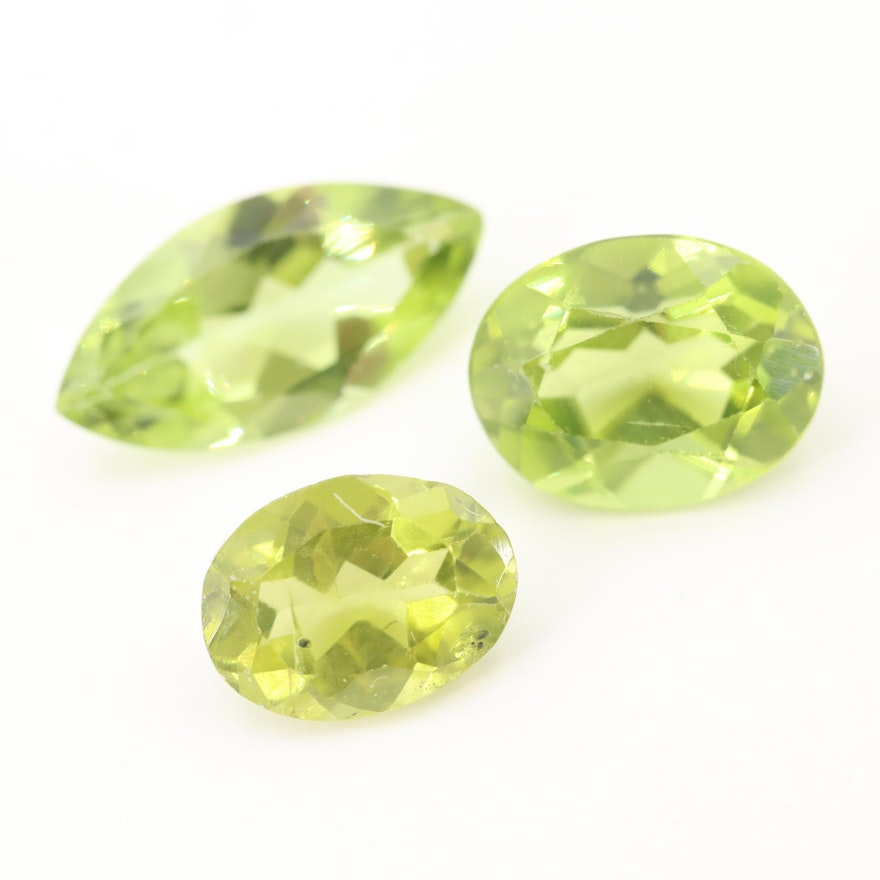 Loose 5.02 CTW Peridot Gemstones