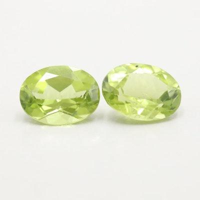 Loose 2.63 CTW Peridot Gemstones