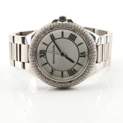 Michael Kors Silver Tone Wrist Watch