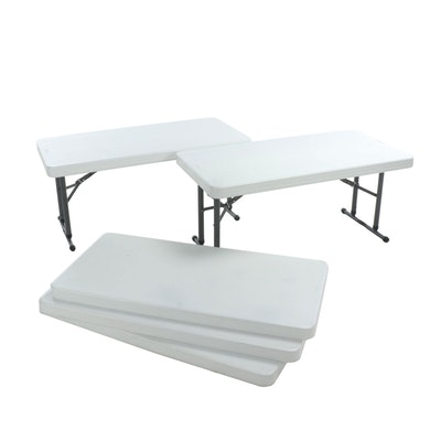 Lifetime Adjustable Folding Tables