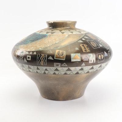 Decorative Rotund Ceramic Vase