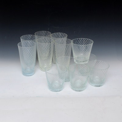 Glass Tumblers and Water Glasses