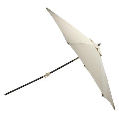 Southern Patio 9' Khaki Crank & Tilt Market Umbrella