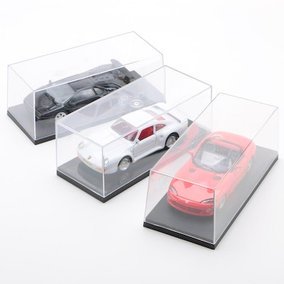Diecast Cars including Lamborghini Diablo and Porsche 959