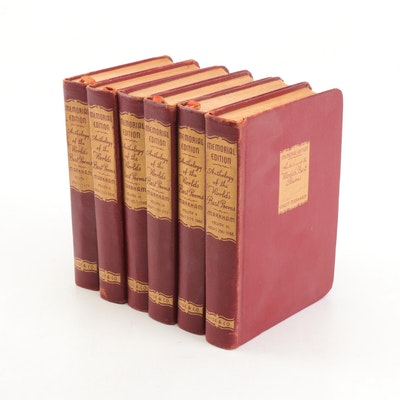 """1948 Memorial Edition """"Anthology of the World's Best Poems"""" Six Volume Set"""