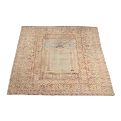 Hand-Knotted Turkish Sivas Wool Rug