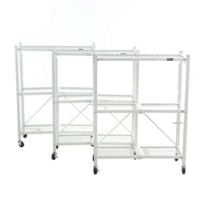 Origami Metal Folding Shelves