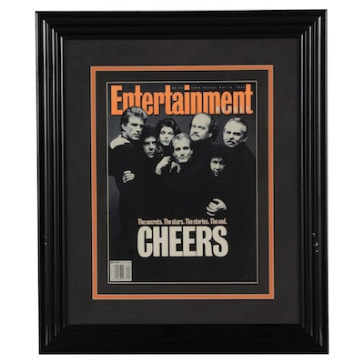 """Cheers"" 1993 ""Entertainment Weekly"" Magazine Cover"