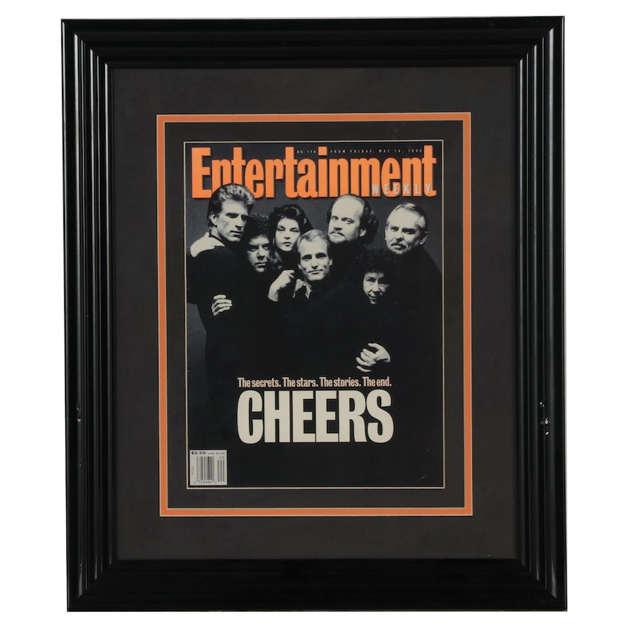 """""""Cheers"""" 1993 """"Entertainment Weekly"""" Magazine Cover"""