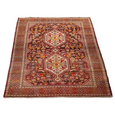 Hand-Knotted Turkish Ürgüp Wool Rug