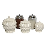 Ceramic and Glass Storage Canisters