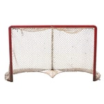 Vintage Hockey Goalie Net Used at The Cincinnati Gardens