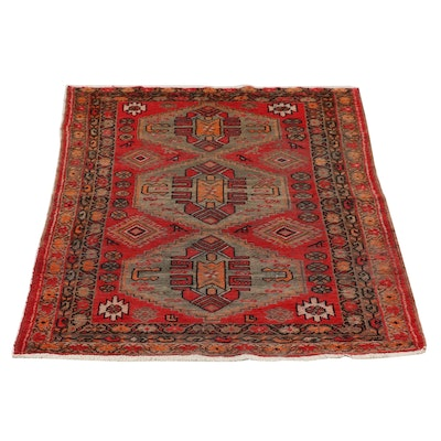 Hand-Knotted Central Asian Khotan Wool Rug