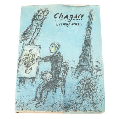 """""""Chagall Lithographs V"""" First American Edition, 1984"""
