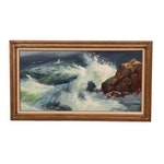 Segundo Huertas Seascape Oil Painting