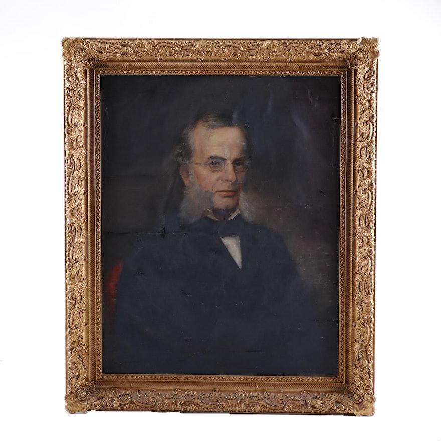W.R.W Oil Painting Portrait Oil Painting