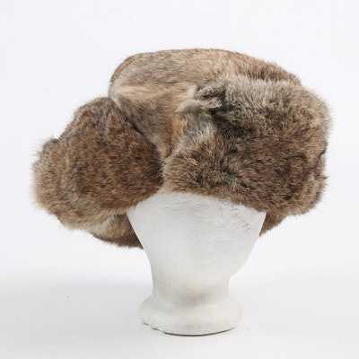 Mad Bomber Rabbit Fur Ushanka Hat