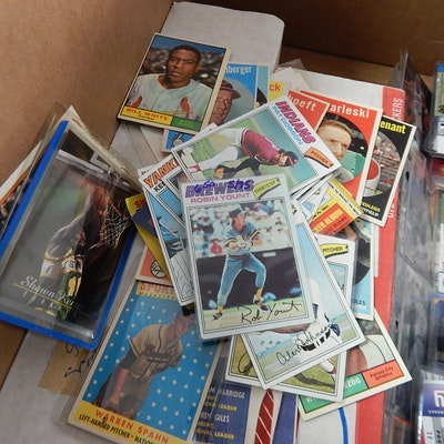 Sports Cards and Collectibles, 1950s to 2000s