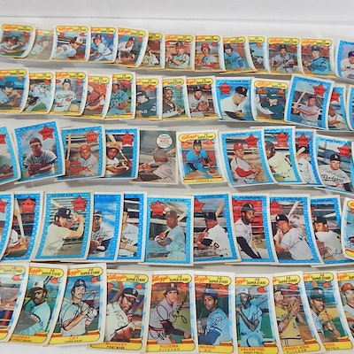 Kellogg's Cards with Mays, Ryan, Stargell, Seaver, 1971 to 1978