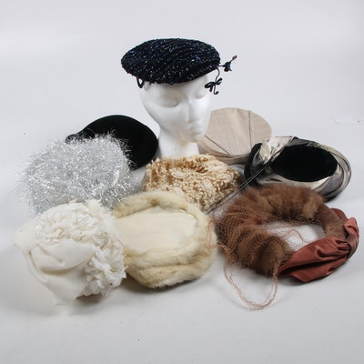 Mink Fur, Embellished, and Novelty Hats