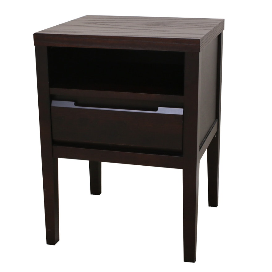 Baronet Wood End Table, Contemporary