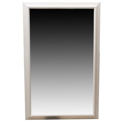 "Lacquered Engineered Wood ""Sahara"" Wall Mirror"