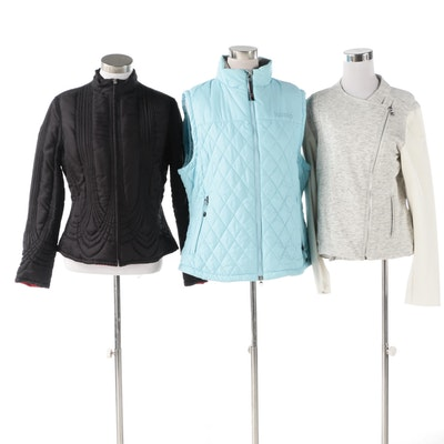 Marmot Vest with Two By Vince Camuto and Reversible Quilted Jackets