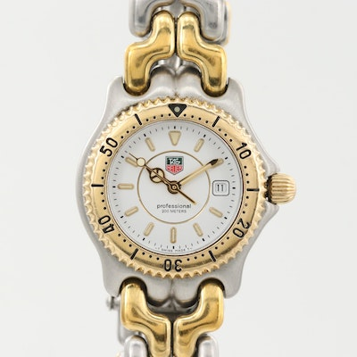 TAG Heuer Link Two Tone Quartz Wristwatch