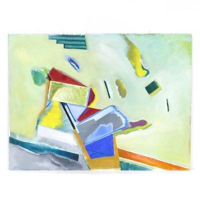 Doris Vlasek-Hails Abstract Acrylic Painting