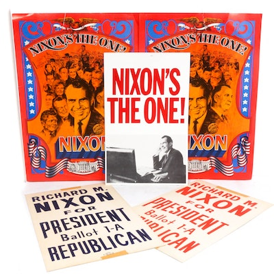 Richard Nixon Political Poster Collection