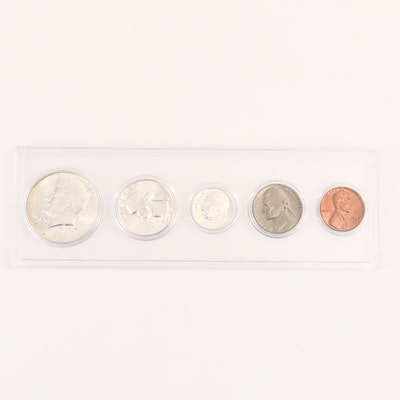 1964 U.S. Type Coin Uncirculated Set