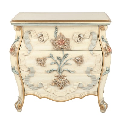 Painted French Style Side Cabinet