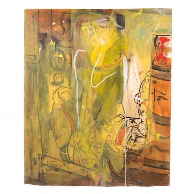 Katie Sutphin Abstract Acrylic Painting