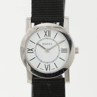 Gucci 5200L.1 Stainless Steel Quartz Wristwatch