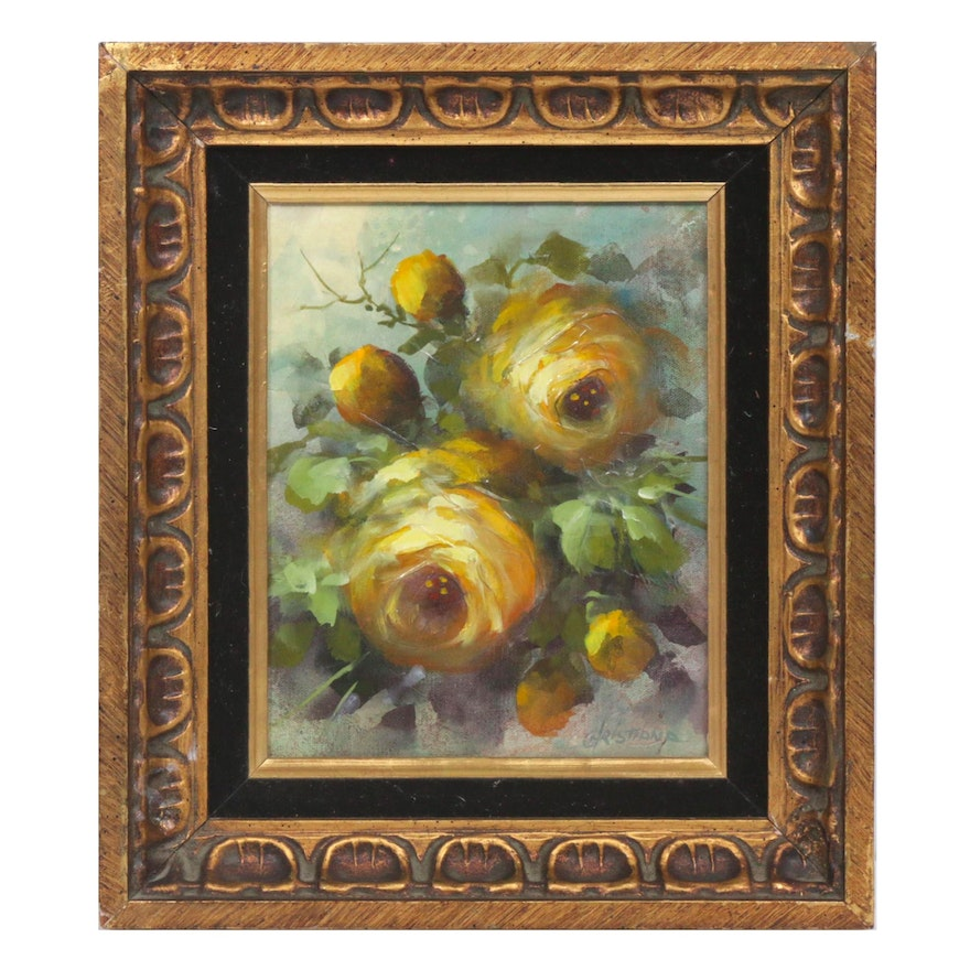 Christiana Floral Still Life Oil Painting