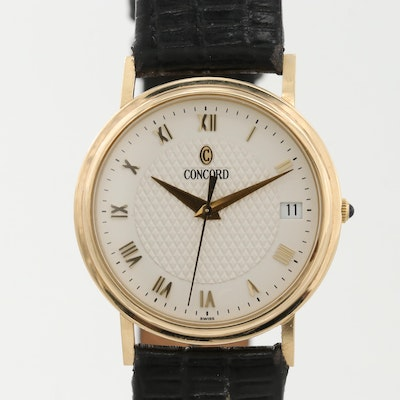 Concord 14K Yellow Gold Quartz Wristwatch