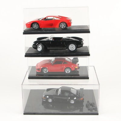Maisto Porsche 550 A Spyder Deicast Model Car and Others