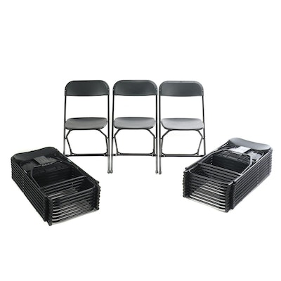 Black Folding Chairs Contemporary