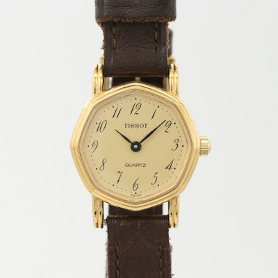 Vintage Tissot Gold Tone Quartz Wristwatch