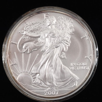 2007 American Silver Eagle Bullion Coin