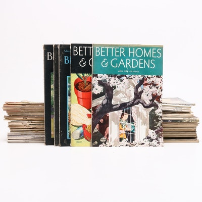 """Vintage Magazines Including """"Better Homes and Gardens"""" and """"The Literary Digest"""""""