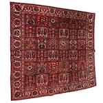 Hand-Knotted Persian Bakhtiari Chahal Shotur Garden Panel Wool Rug