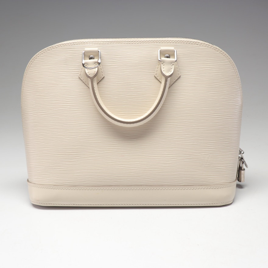 Louis Vuitton Epi Leather Alma Handbag