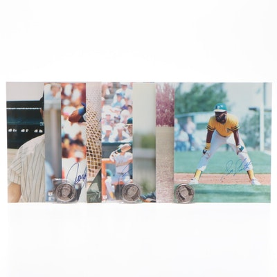 Reynolds, Weiss, Sierra, Witt, Francisco, and More Signed Baseball Photo Prints