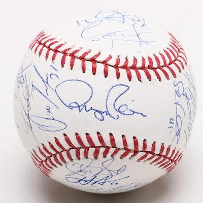 2014 Cincinnati Reds Team Signed Baseball, COA